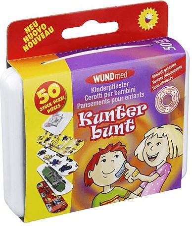 Kinderpflaster  (50 Stück) wasserfest