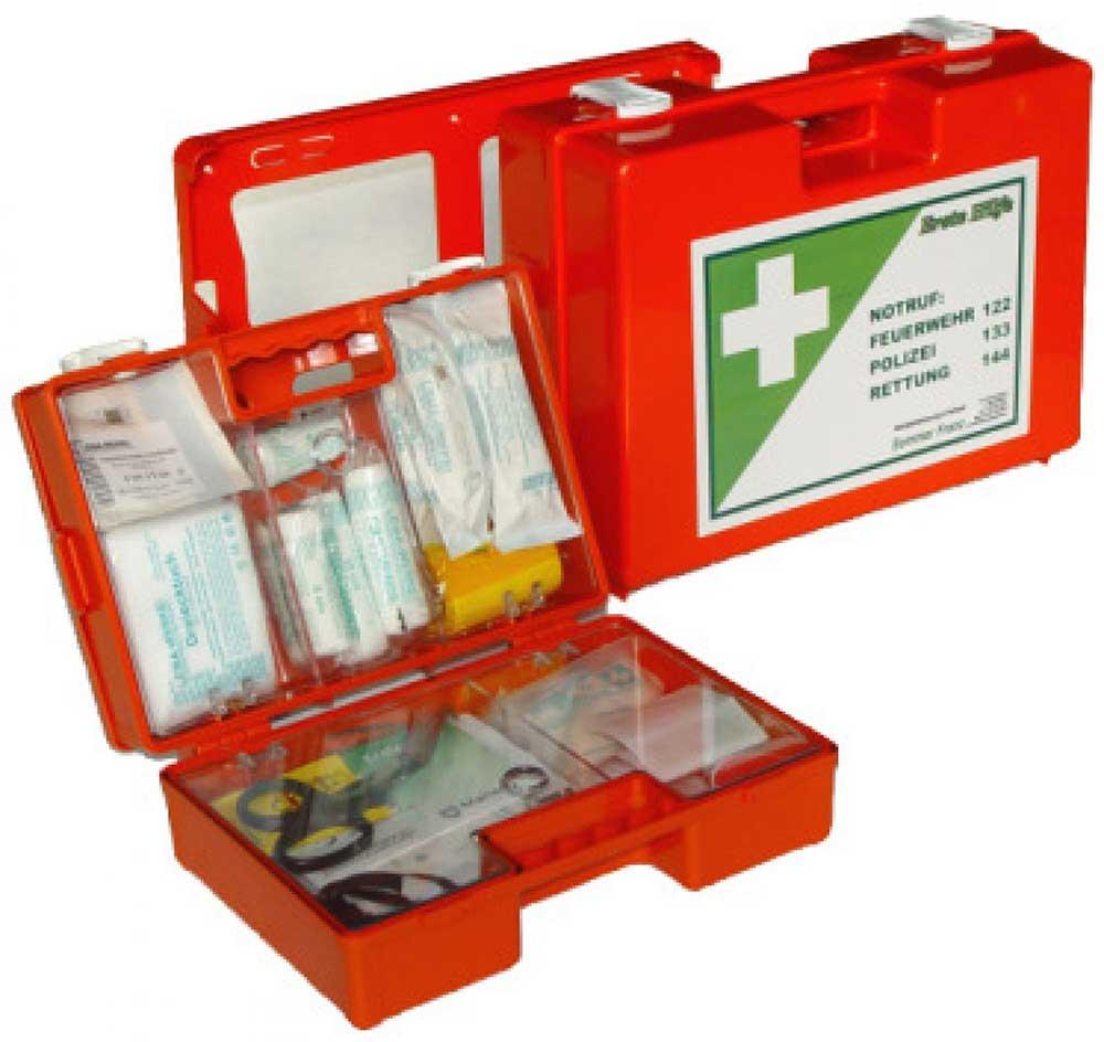 Erste Hilfe-Koffer Kunststoff ÖNORM Z1020 Typ 1