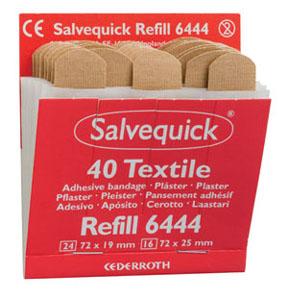 Salvequick  Nachfüllung Textil