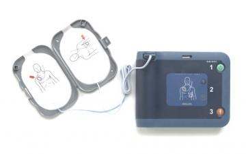 Philips FRX Defibrillator inkl. Zubehör und Tasche